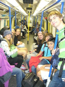 Riding the Tube