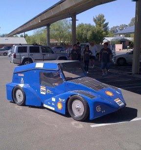UA solar car