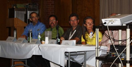 participants in panel discussion