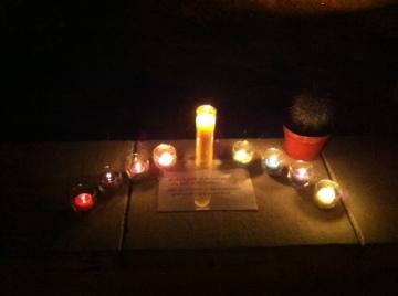 jan 8 candles at st p