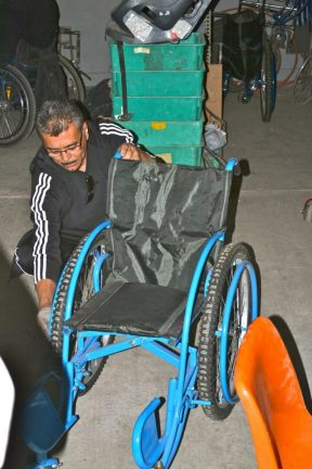 ARSOBO wheelchair factory