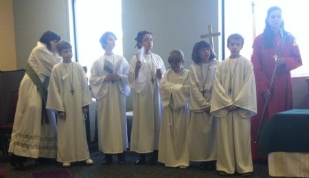 Solemn Communion participants