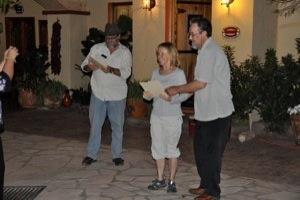 presenting certificates