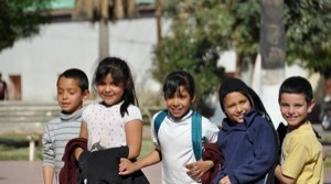 children in Banamichi