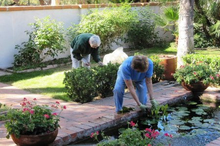 Garden Guild working