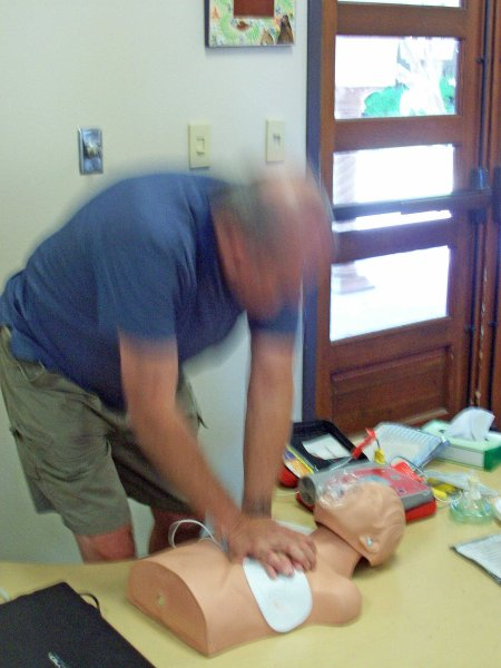 Administering CPR