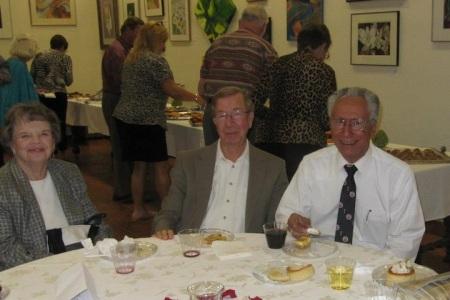 Claude Deniz at reception