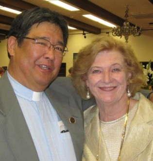 John Kitagawa and Saucy Cutlip