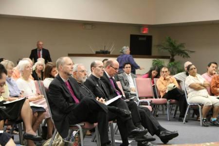 Bishops in attendance