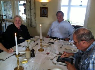 Ann Plimpton, Conrad Plimpton, Ed Alexander