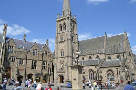 street scene in Durham