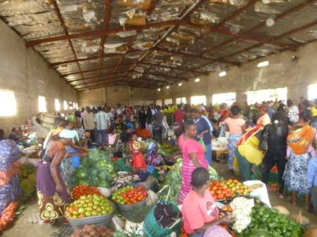 "Following graduation, the Sisters took the Survival School teaching team to the ""Tuesday Market"" for a last taste of Africa before returning to Arizona."