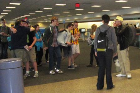 pilgrims airport leaders