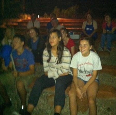 choir campfire
