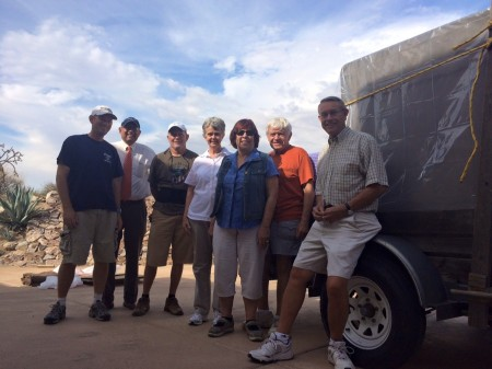Among those helping with the move were Jonathan Sprinkle, Sunny Bal, Mike Humphrey, Jeannine and Roger Rainbolt, and Martha and John Lawrence