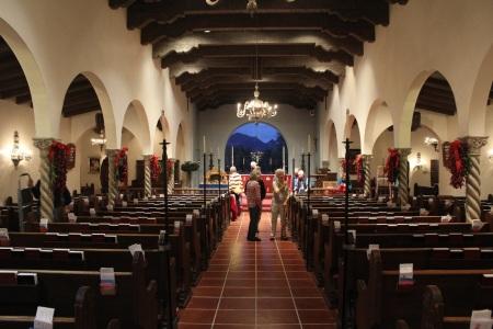 greening church interior