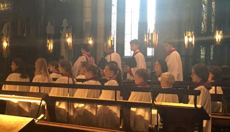 worcester choir in action
