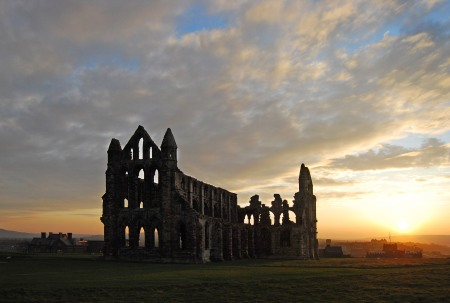 sunset-at-whitby-abbey